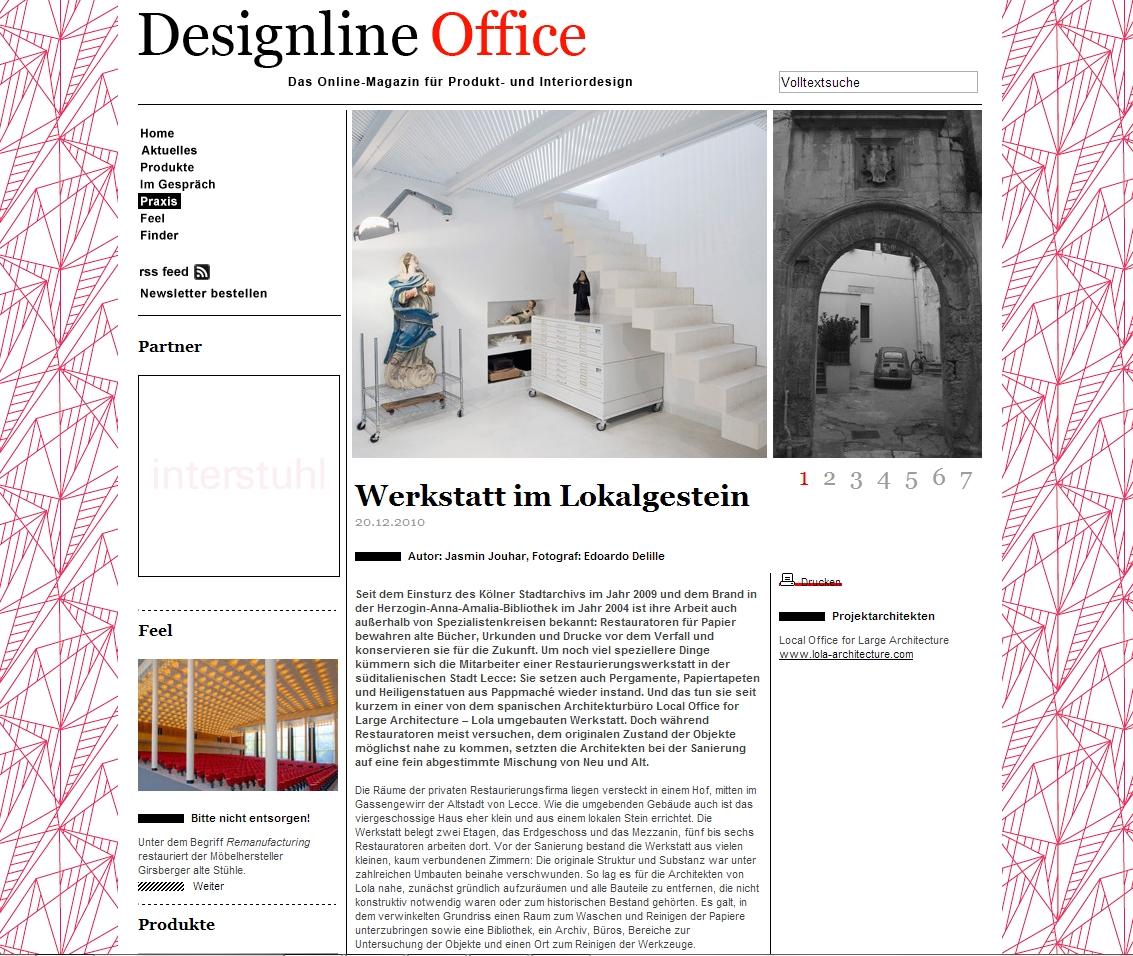 Centre for Paper Restoration - Designline